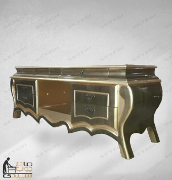 میز ال سی دی بغل خمره معرق 150