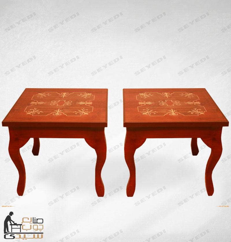 میز جلو مبلی دو تیکه