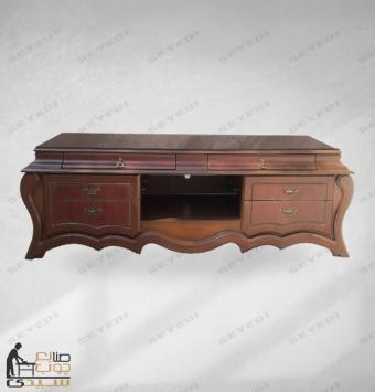 میز ال سی دی بغل خمره روکشی 150